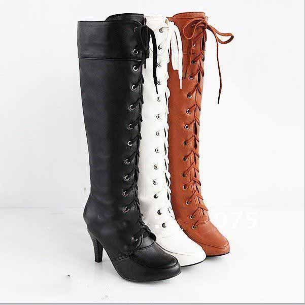 US$49 for Women's Knee High Boots: Online Shopping with Free Shipping