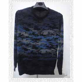 Men's O-Neck Knitted Long Sleeve Breathable Cotton Winter Sweaters