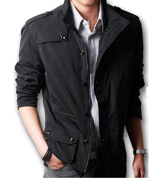 Men's Winter Korean Thin Section Collar Casual Jacket