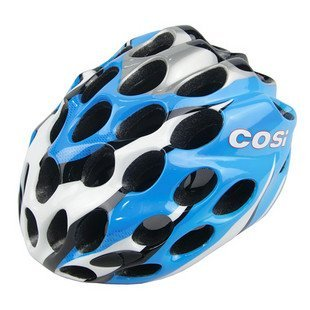 Blue Helmet for Bike Lover COSI 39 Holes Cycling Helmet