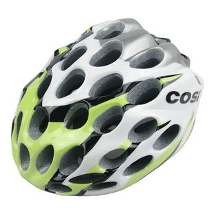 Green Helmet for Bike Lover Cosi 39 Holes Cycling Helmet