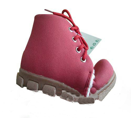 Durable Soft Leather Snow Children Ankle Boots