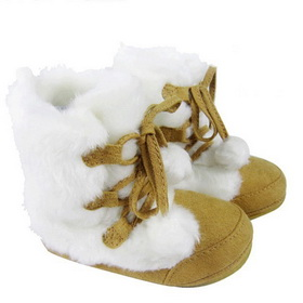Colourful Cotton Spring Autumn Winter Thin Padded Baby Boots