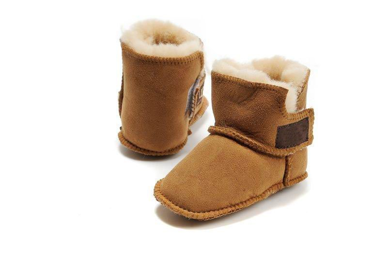 Baby Cotton Mid-Calf High Fur Warm Anti-slip Winter Boots