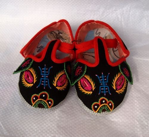 Baby Chinese Folk Cotton Comfortable Winter Soft Boots