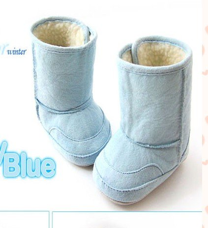 Toddler Knee-High Cotton Non-slip Winter Snow Boots