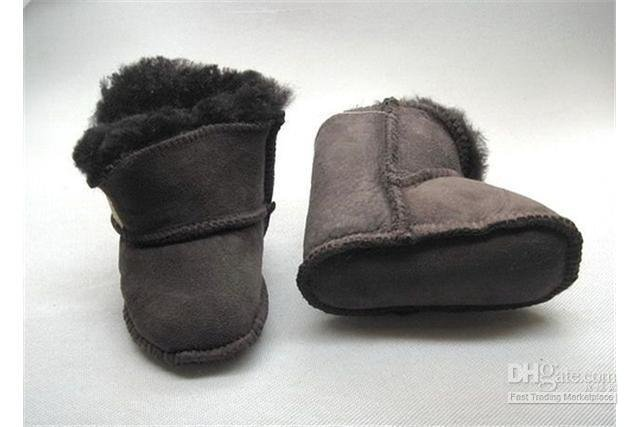 Baby Brown Confortable Soft Warm Snow Boots