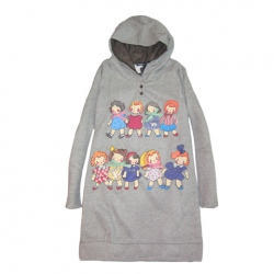 Amanda49 Warm Winter Cute Children Patterns Long Sleeve Hooded Sweater