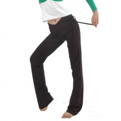 Amanda49 Comfortable V-Waistline Cotton Trousers For Dance and Yoga