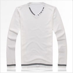 Amanda49 New Arrival Fashion Corean V-neck Long Sleeve Bottoming Knitting Sweater For Man