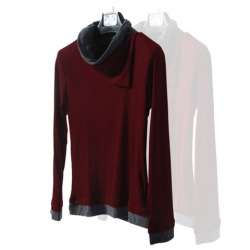 Amanda49 Top Quality Stylish and Comfortable Long Sleeve Turtleneck Sweater