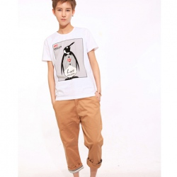 Amanda49 Popular and Casual Cotton Three Quarter Trousers For Men