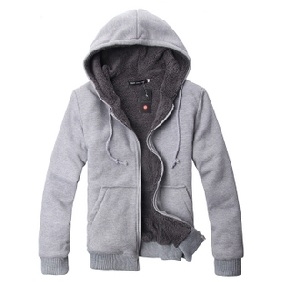 Fashion Korean Casual Cotton Zipper Even Cap Jacket