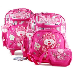 Cute Girls' Cartton Backpacks Images on Kids Backpack