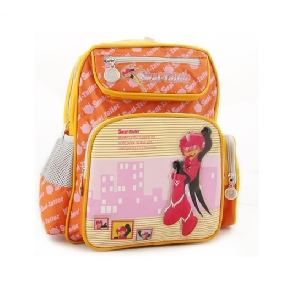 Waterproof Solid Popular Cartton Images on Kids Backpack