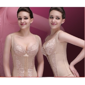 Lace Comfortable Shapers Thin Plastic Body Suit