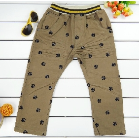 Spring&Autumn Items In The Style Of Korea Children's Pants Leisure Trousers
