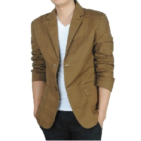 Men's Classical Fashionable Leisure Suit Pure Cotton Suit