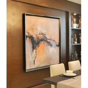 Pure Hand-painted Frameless Canvas Abstract Oil Painting