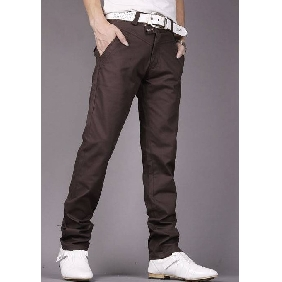Men's Leisure Pants Straight Trousers Korean Style Trousers