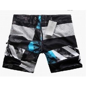 Quick Dry Men's Summer Beach Trousers Shorts