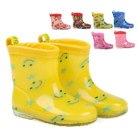 Children's Cartoon Boots Baby Cute Galoshes Rain Boots