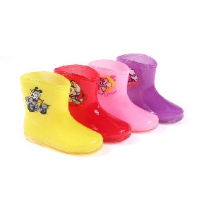 Children's Boots Baby Waterproof Boots Warm Rain Boots