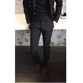 Men's New Korean Cotton Slim Fit Pants