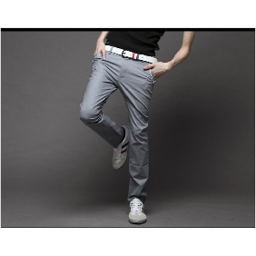 Men's Casual Korean Fashion Trousers Slim Fit Pants