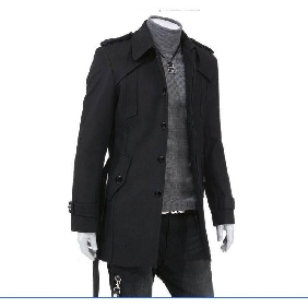Men's British Style Fashion Woolen Coats