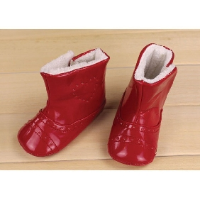 Slip Resistant Genuine Leather Baby Boots