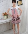 2011 Women Summer Korean Maternity Suit Urban Pregnant Women Skirt