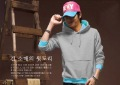 Eco-Friendly Cotton Men's Multi-colours Even Cap Pullover Sweater