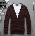 Men's Anti-Shrink Breathable Quick Dry Cotton Blended Cashmere Knitted Sweater