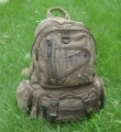 Canvas Washed Zipper Hasp Hiking Backpacks