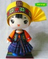 """Zhuang Boy"" Handmade Ethnic Doll Toy Partner Doll Home Decoration"