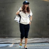 Amanda49 Simple and Casual Cotta Thin Fleeces Sport Suit For Woman/Girl