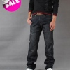 Amanda49 Leisure and Cool Black Long Jeans For Men
