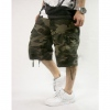 Amanda49 Fashion Hip Hop Style Street Dancing Feel Casual Multi-Pocket Middle Pattern Overalls