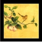 Frameless Fruit Tree Birds Hand-painted Ornamental Oil Painting