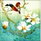 Frameless Flowers and Birds Hand-painted Three-dimensional Oil Painting