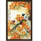 Kapok in Full Bloom Birds Cotton Canvas Hand-painted Digital Oil Painting